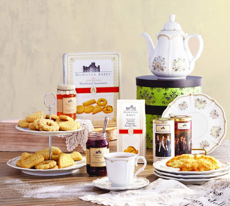Downton Abbey Products in the World Market Shops