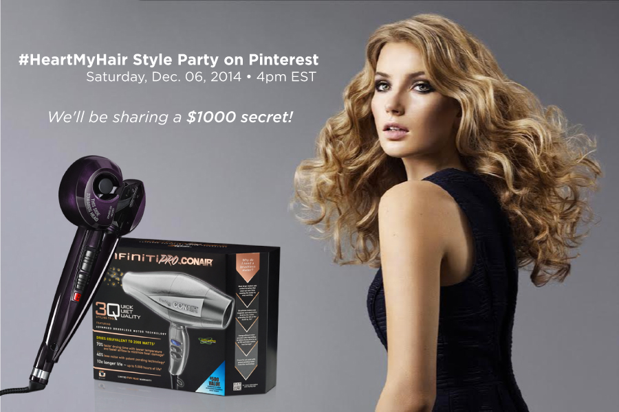 #HeartMyHair Pinterest Party!