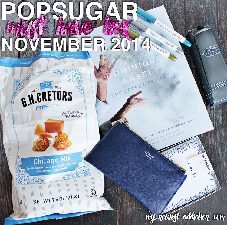 Popsugar Must Have Unboxing | November 2014