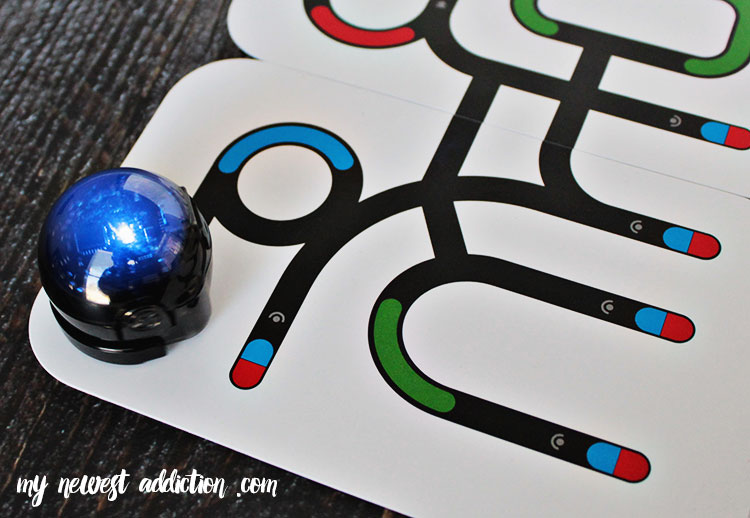 Ozobot is a robot named the game piece with a brain!