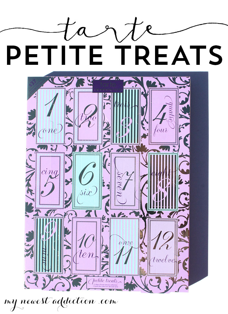 Tarte Petite Treats | Advent Calendar | A set of deuce samples that really gives you a feel for the brand.