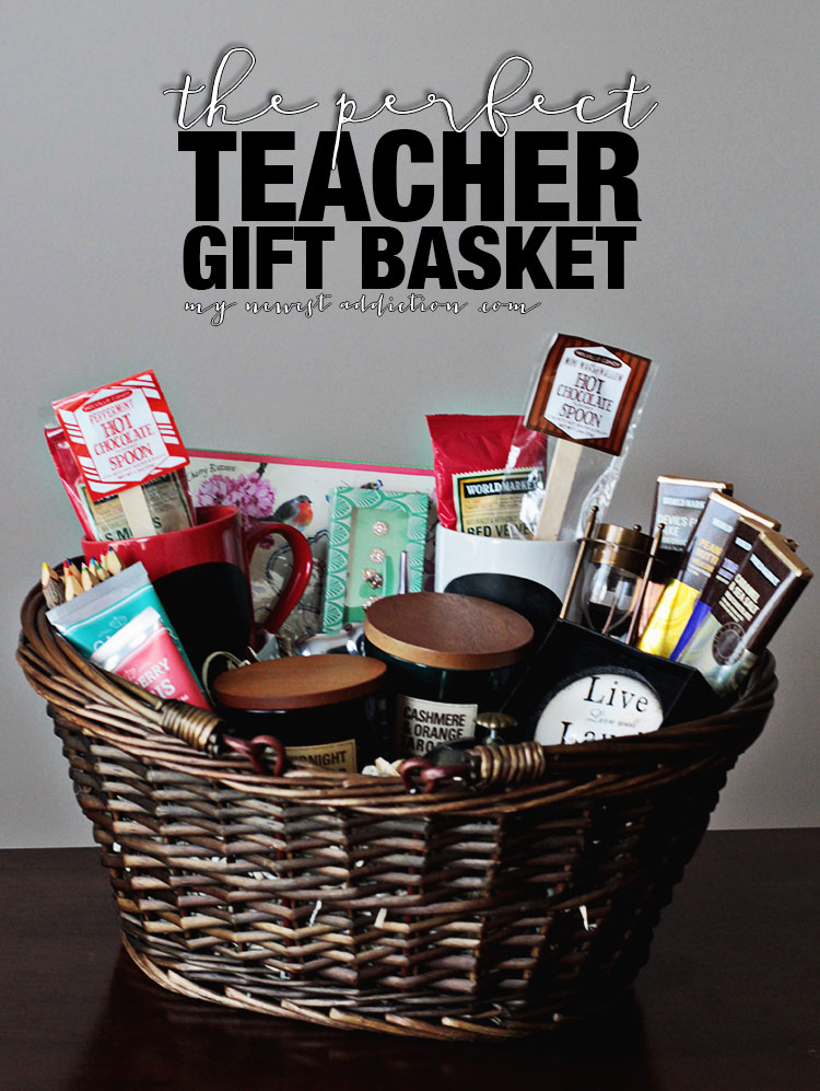 teacher gift baskets car interior design. Black Bedroom Furniture Sets. Home Design Ideas