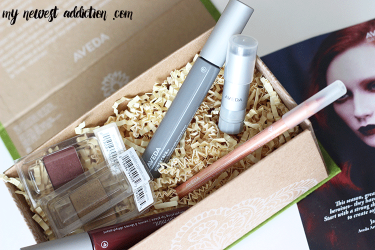 Marsala Makeup Look using Aveda + GIVEAWAY