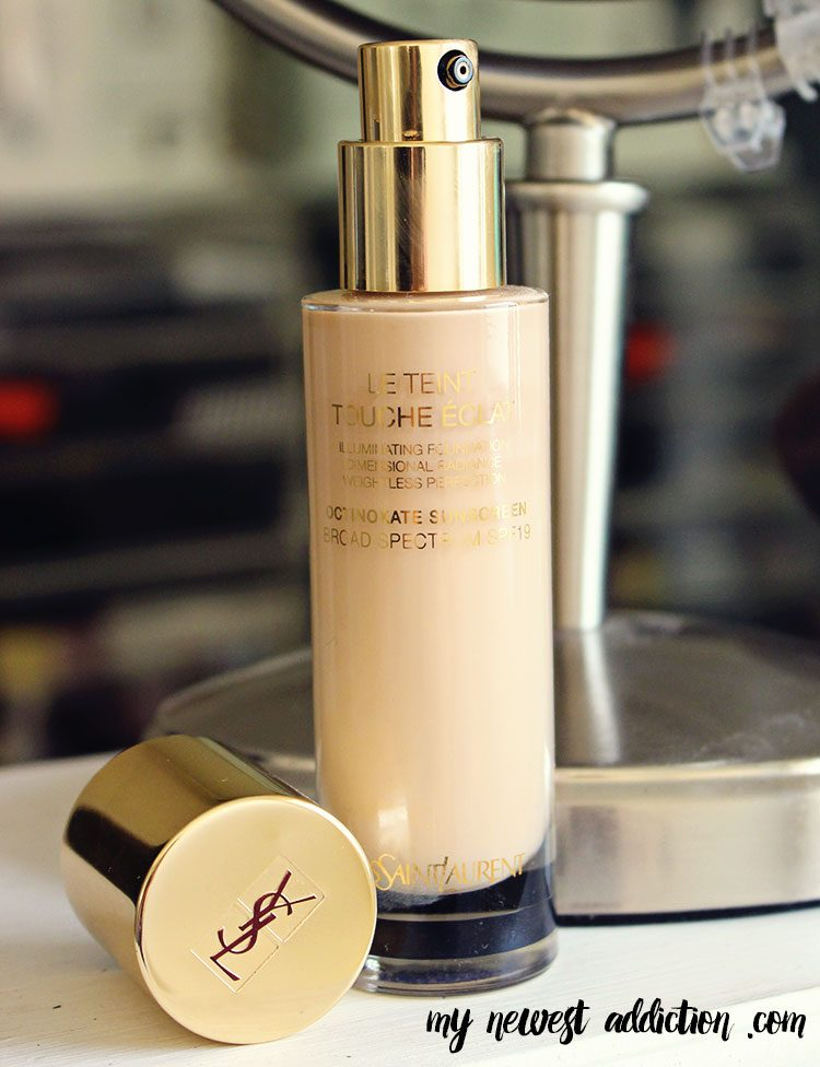 My Favorite Foundations of 2014 YSL Le Teint Touche Eclat