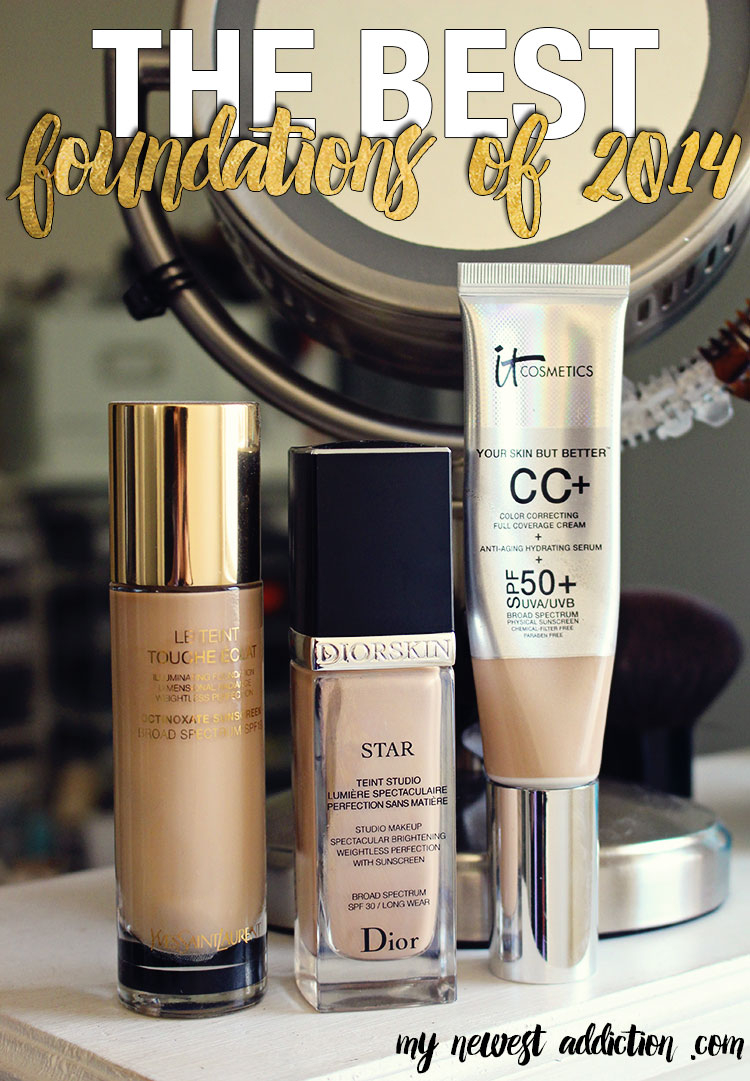 My Favorite Foundations of 2014