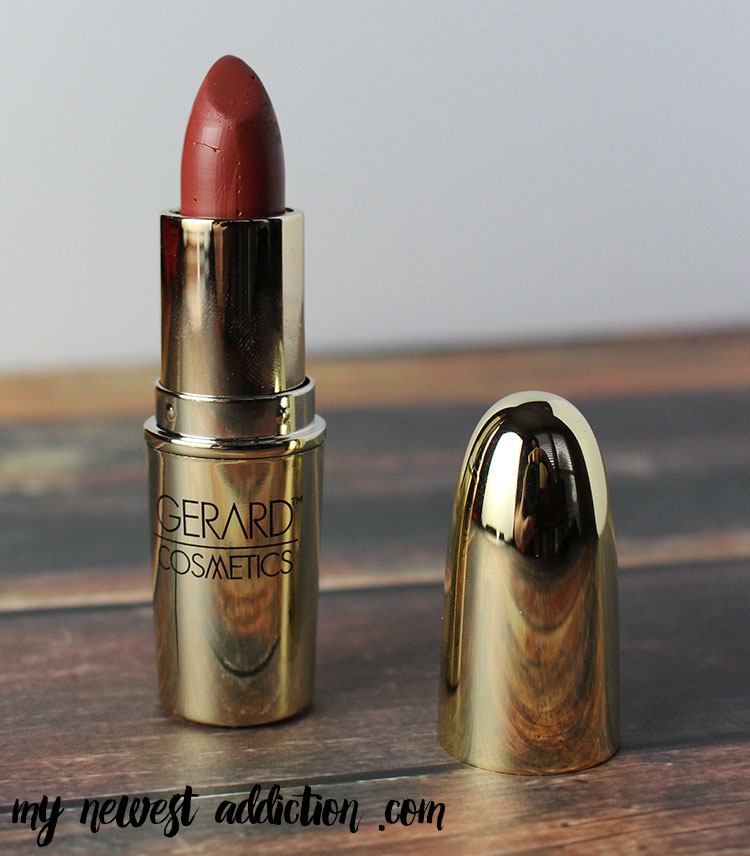 My Favorite Lipstick of 2014 is Gerard Cosmetics 1995