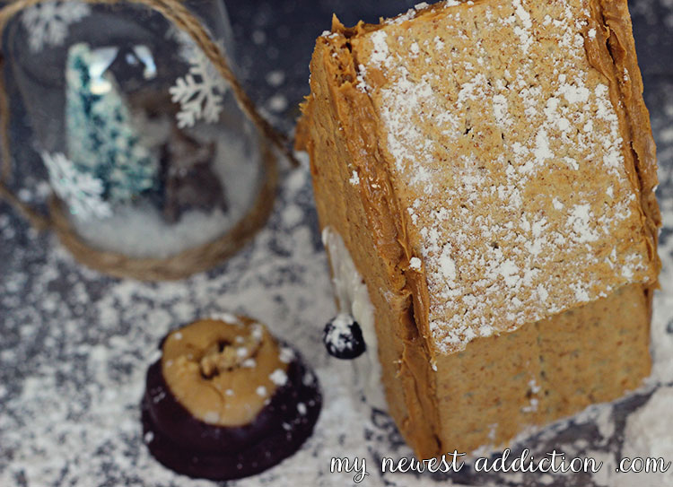 Graham Cracker House with Honey Maid and Skippy Peanut Butter