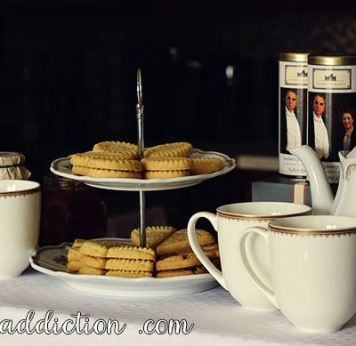 Downton Abbey Inspired Tea Party + Giveaway