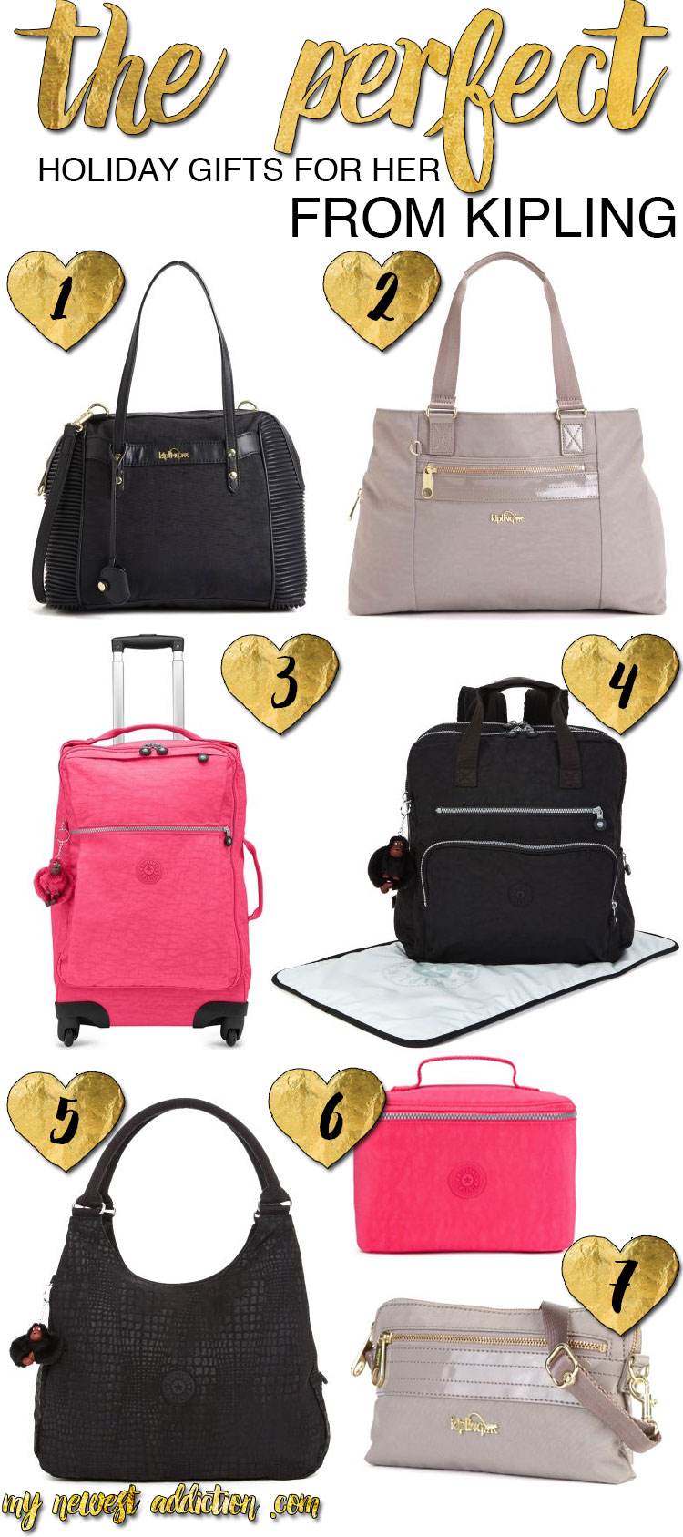 The Perfect Holiday Gifts for Her from Kipling