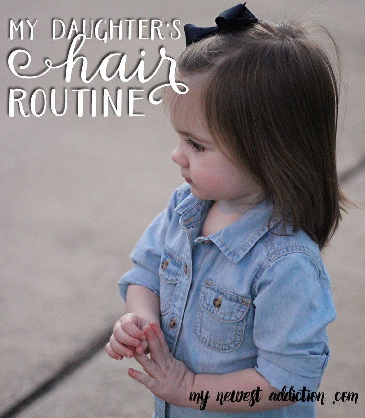 My Daughter's Hair Routine | The Gnarly Whale