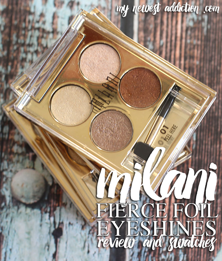 Milani Fierce Foil Eyeshines