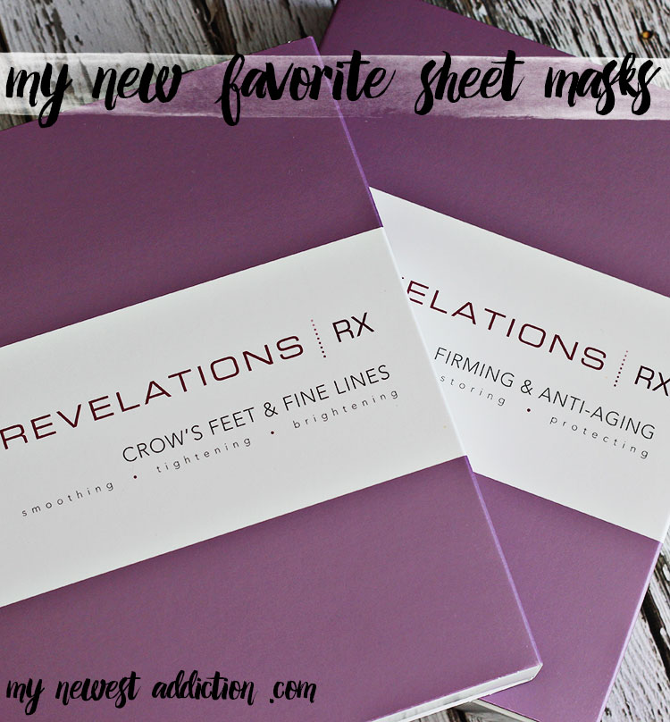 Revelations RX | My New Favorite Sheet Masks