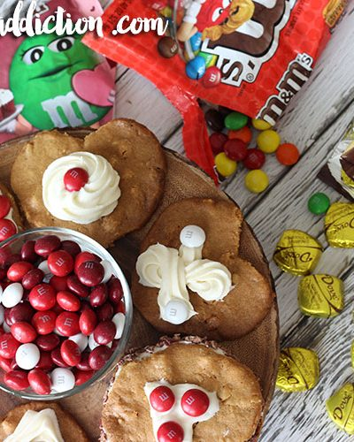 Valentine's Day Cookies with M&M's®