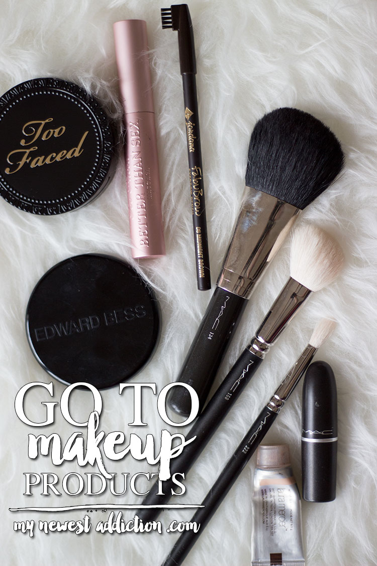 Go To Makeup Products