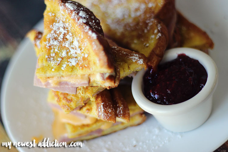 Homemade Monte Cristo Grilled Cheese