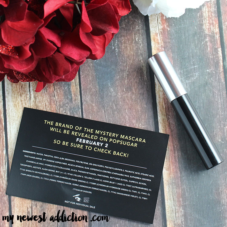 Mystery Mascara | Sephora and POPSUGAR teamed up to give us a fun challenge!  #CurlPower