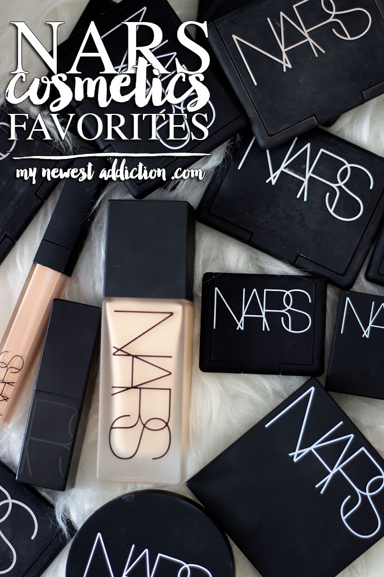 NARS Cosmetics Favorites