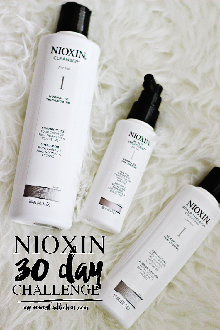 NIOXIN 30 Day Challenge