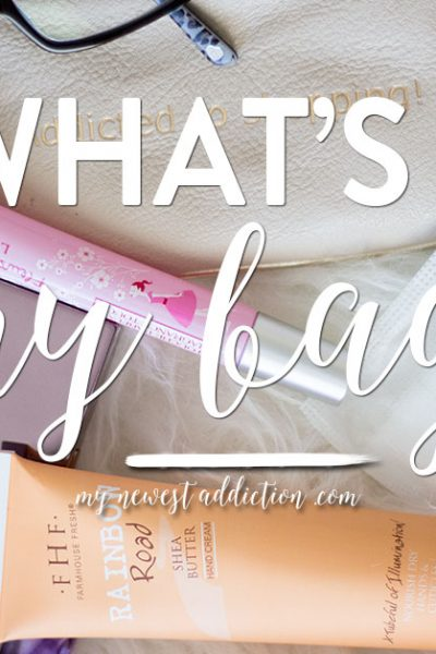 What's In My Bag | Tory Burch Robinson Open Dome Satchel