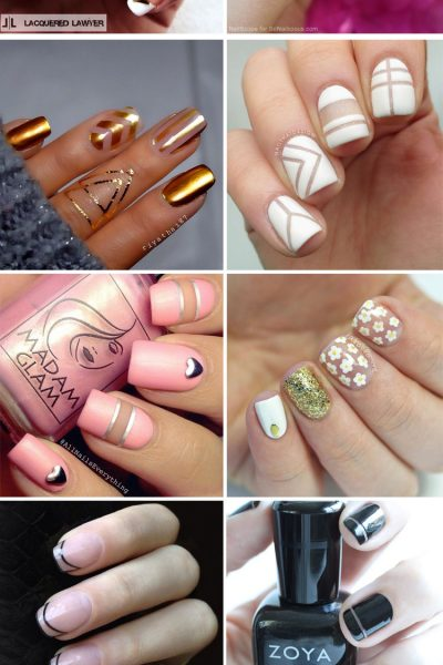 10 Negative Space Manicures
