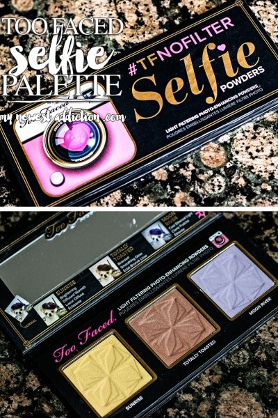 Too Faced #TFNOFILTER Selfie Palette