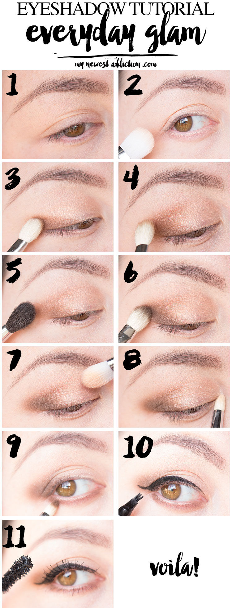 Eyeshadow Tutorial Everyday Glam