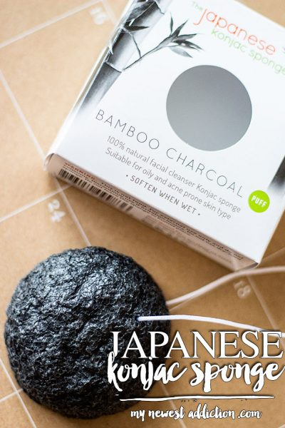 The Japanese Konjac Sponge | Bamboo Charcoal