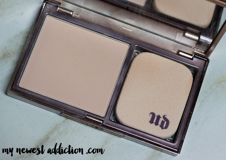 5 Product Makeup Look | Urban Decay Powder Foundation