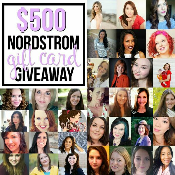 Nordstrom Giftcard Giveaway