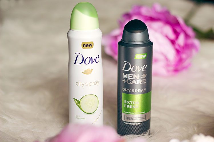 Dove Dry Spray His and Hers