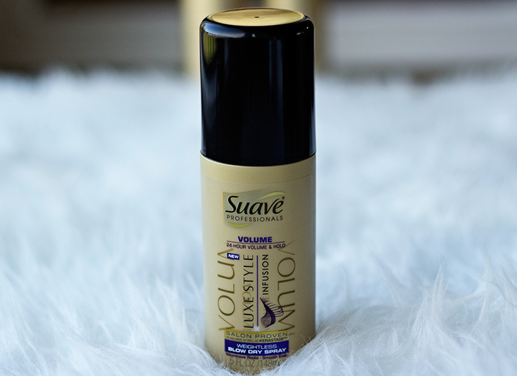 Suave Luxe Style Infusion | Blow Dry Spray