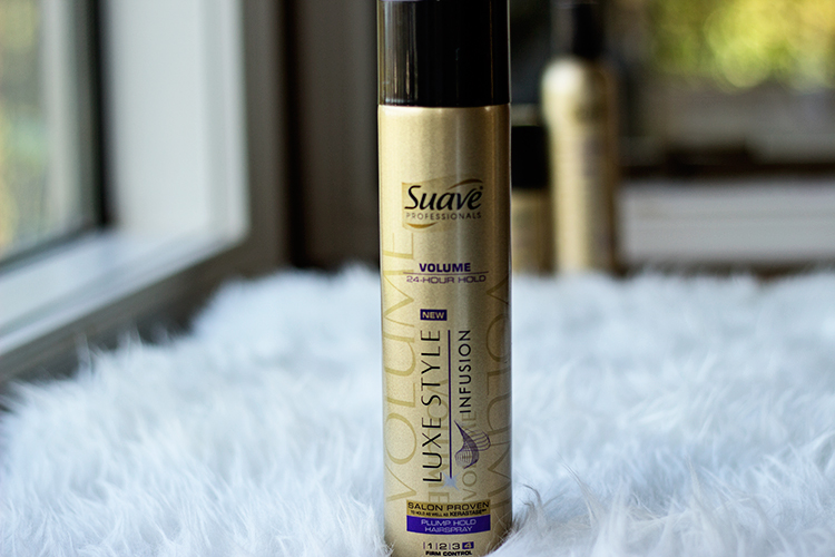 Suave Luxe Style Infusion | Plump Hold Hairspray
