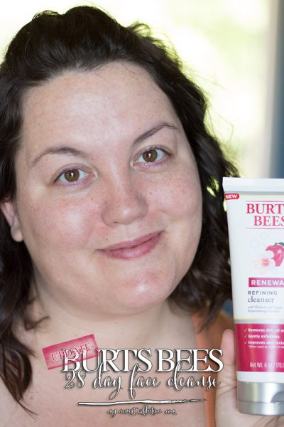 UPDATE: Burt's Bees 28 Day Face Cleanse