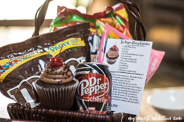 Dr Pepper® Cherry Cupcakes Printable