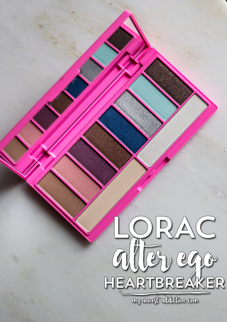 LORAC Alter Ego Eye Shadow Palette in Heartbreaker