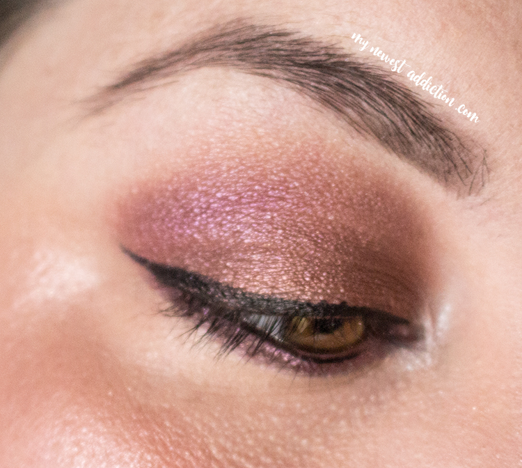 LORAC Alter Ego Eye Shadow Palette in Heartbreaker eye look