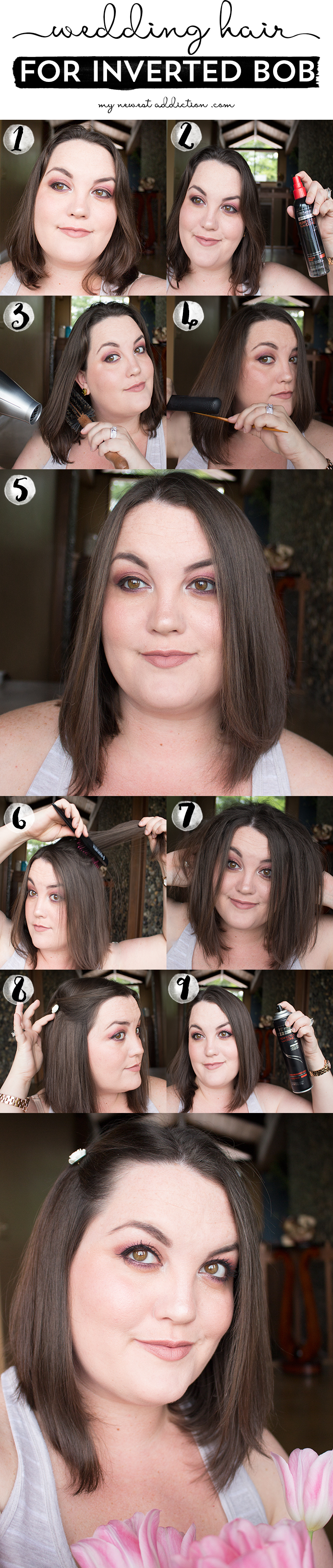 Wedding Hair For Inverted Bob