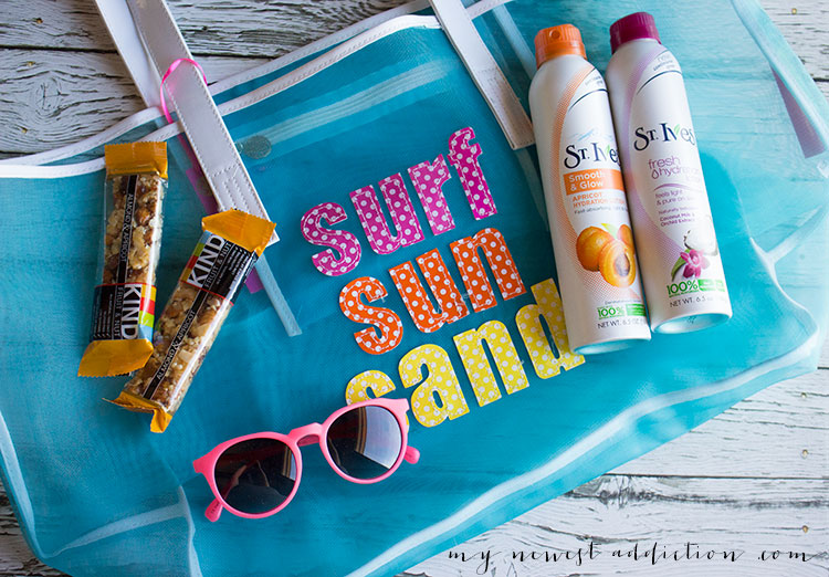 Beach Day Essentials with St Ives