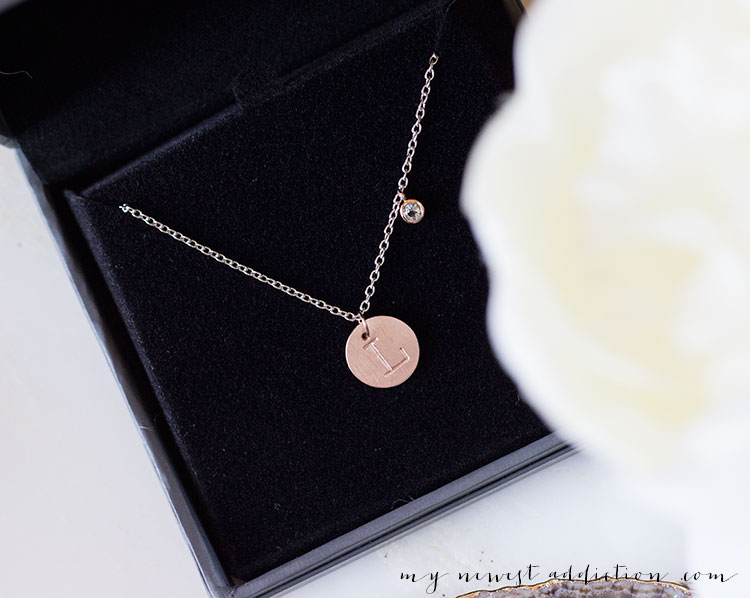 Gemma Gray NYC Personalized Necklace