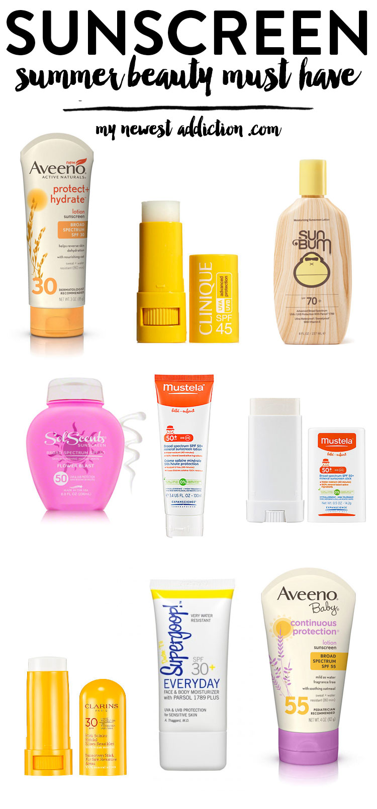 Sunscreen | Summer Beauty Must Have