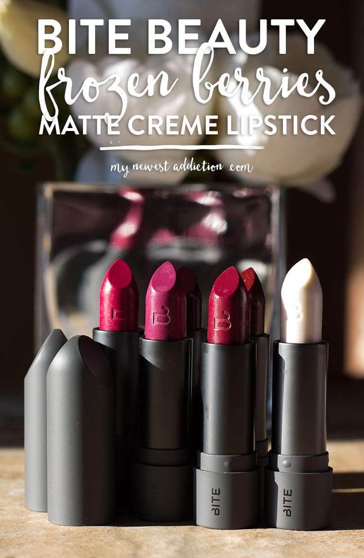 Bite Beauty Frozen Berries Matte Creme Lipstick