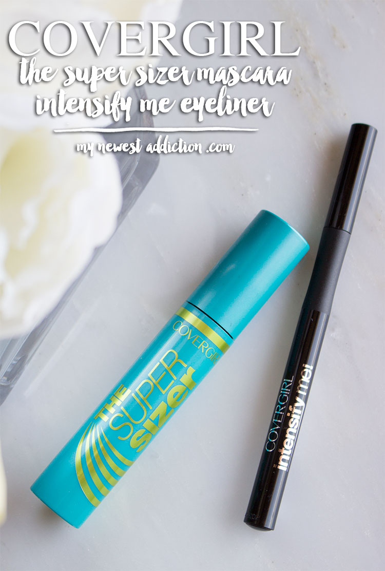 Covergirl | The Super Sizer Mascara & Intensify Me Eyeliner Review