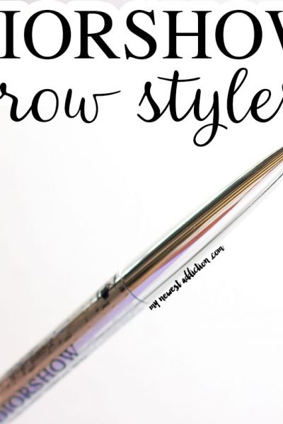 Dior Diorshow Brow Styler Review and Swatches