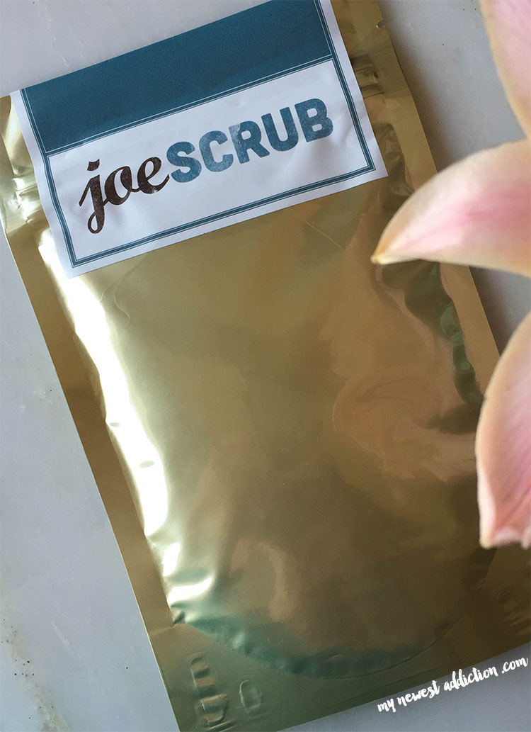 Joe Scrub Face and Body Scrub Review