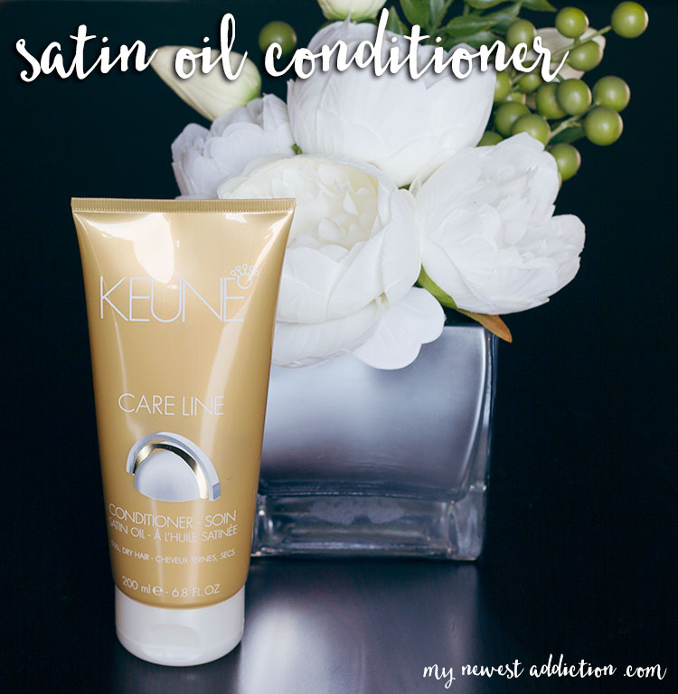 Keune Satin Oil Care Line Conditioner