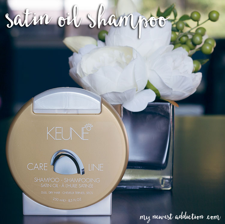 Keune Satin Oil Care Line Shampoo