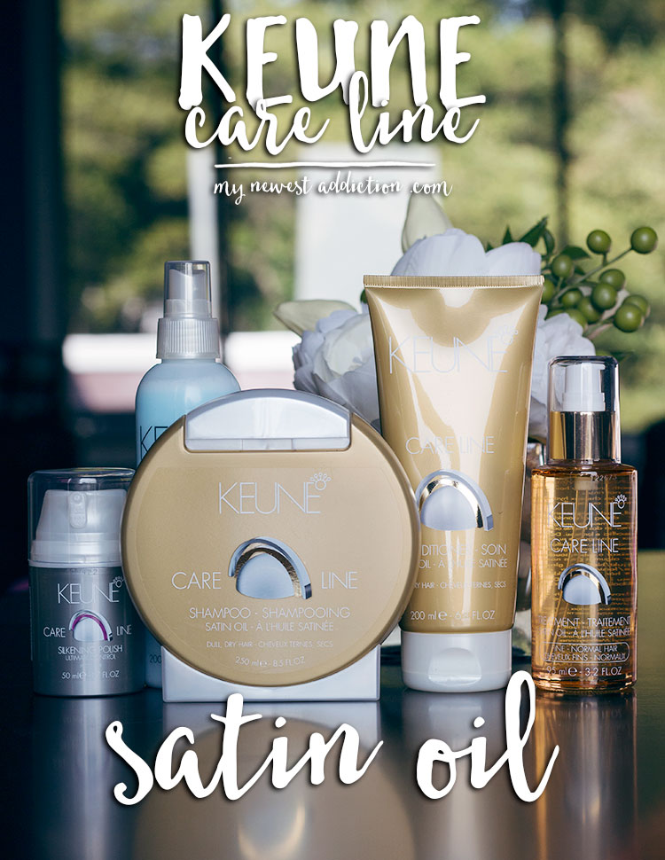 Keune Satin Oil Care Line