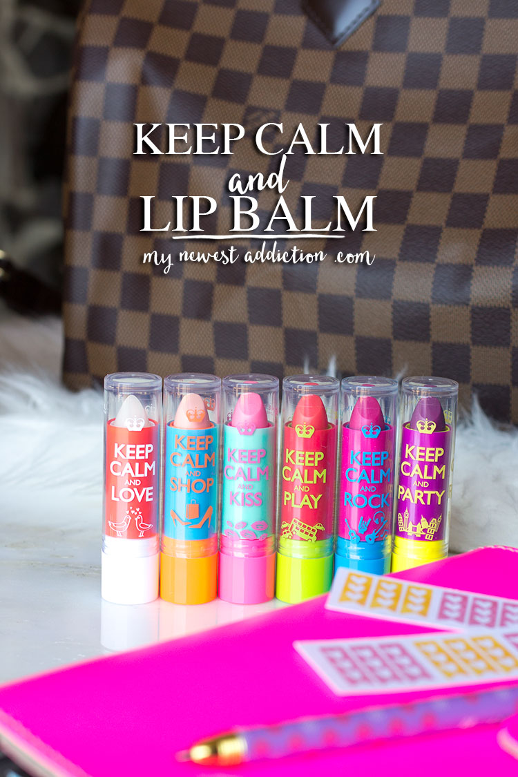 Rimmel London Keep Calm and Lip Balm