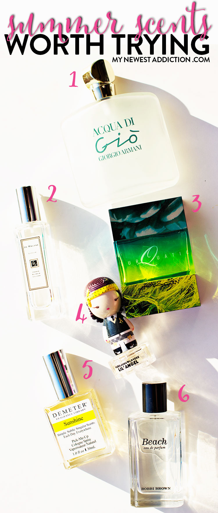 Summer Scents Worth Trying
