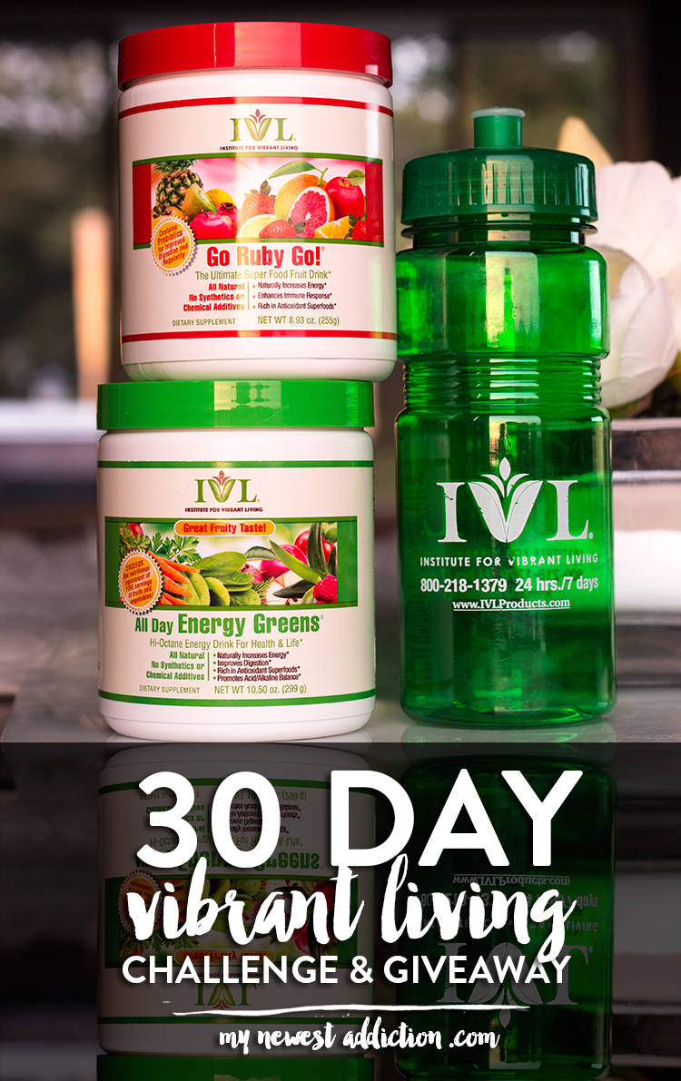 30 Day Vibrant Living Challenge + Giveaway